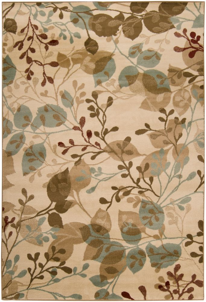 Pampatar Raw Umber Polypropylene - 7 Ft. 9 In. x 11 Ft. 2 In. Area Rug Pampatar-C in Canada