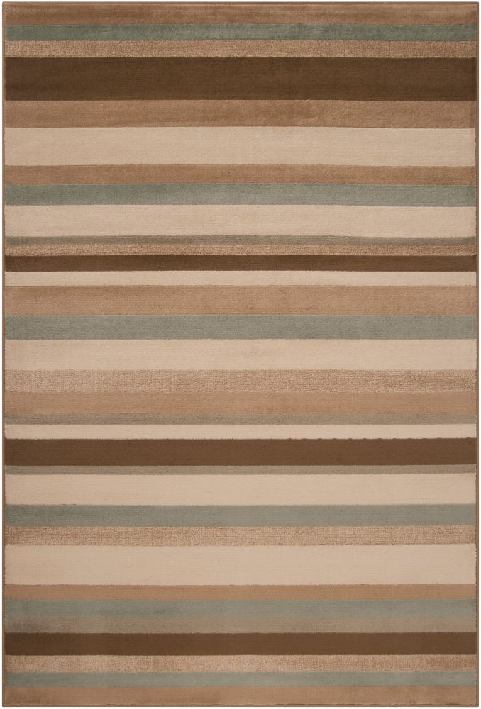 Parlamo Parchment Polypropylene  - 5 Ft. 3 In. x 7 Ft. 6 In. Area Rug