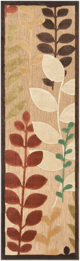 Artistic Weavers Casanay Beige Tan 2 ft. 6-inch x 7 ft. 10-inch Indoor/Outdoor Transitional Runner