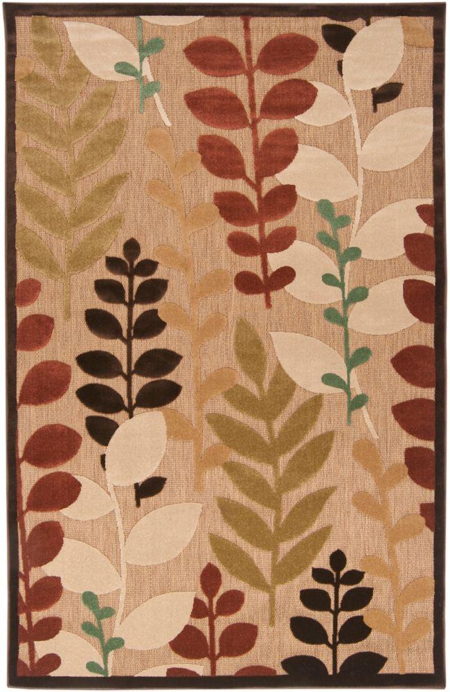 Artistic Weavers Casanay Beige Tan 7 ft. 10-inch x 10 ft. 8-inch Indoor/Outdoor Transitional Rectangular Area Rug