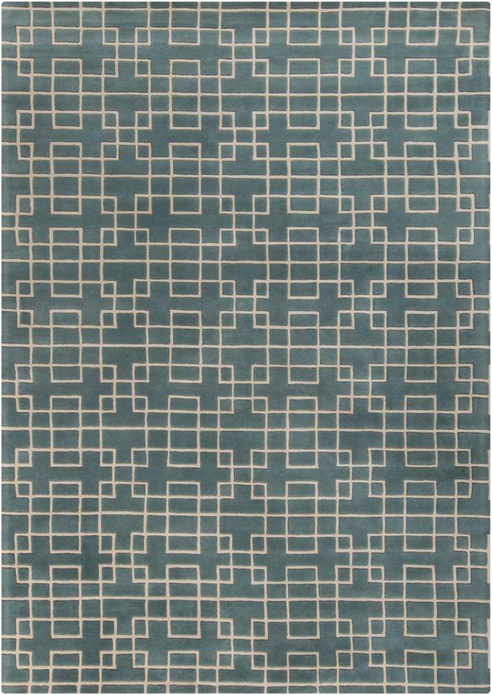 Artistic Weavers Ipatinga Grey 8 ft. x 11 ft. Indoor Contemporary Rectangular Area Rug