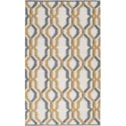 Artistic Weavers Carpette d'intérieur, 2 pi x 3 pi, style transitionnel, rectangulaire, gris Bahia