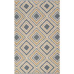 Artistic Weavers Carpette d'intérieur, 5 pi x 8 pi, style transitionnel, rectangulaire, gris Parana