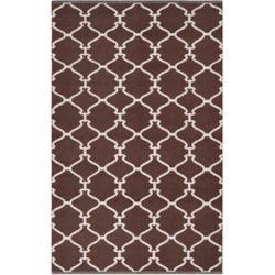 Artistic Weavers Carpette d'intérieur, 2 pi x 3 pi, style transitionnel, rectangulaire, brun Fortaleza