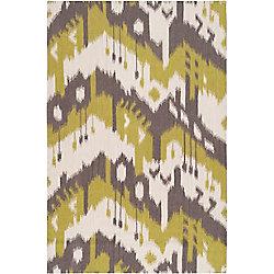 Artistic Weavers Carpette d'intérieur, 5 pi x 8 pi, tissage texturé, rectangulaire, vert Belem