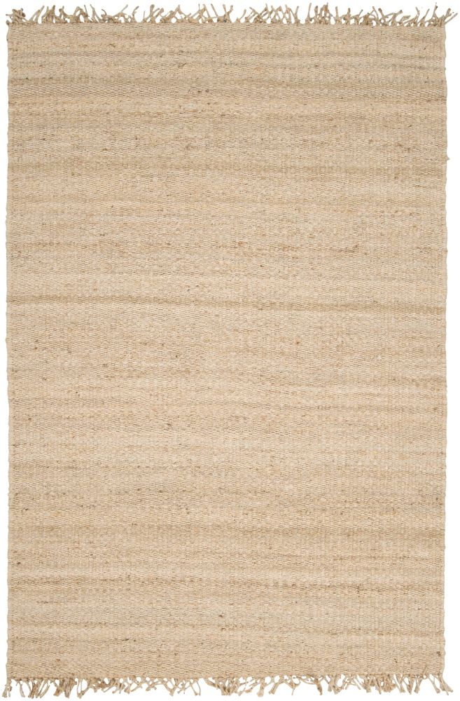 Tapis Carpette Goana délavée en jute - 5 Po. x 7 Po. 6 Pi.