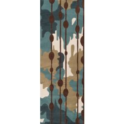 Artistic Weavers Clarines Blue 2 ft. 6-inch x 8 ft. Indoor Contemporary Runner