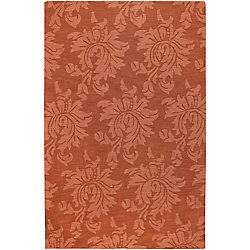 Artistic Weavers Carpette d'intérieur, 2 pi x 3 pi, style contemporain, rectangulaire, orange Mapire