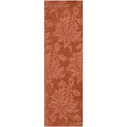 Artistic Weavers Tapis de passage d'intérieur, 2 pi 6 po x 8 pi, style contemporain, orange Mapire