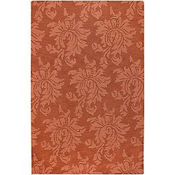 Artistic Weavers Carpette d'intérieur, 5 pi x 8 pi, à poils longs, style contemporain, rectangulaire, orange Mapire