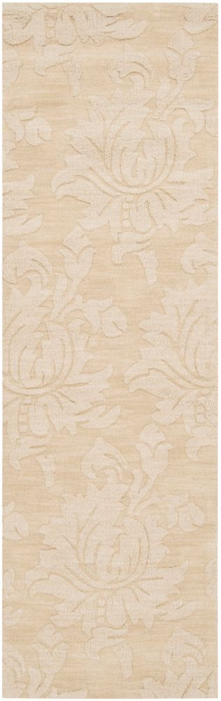 Parigua Ivory Wool Runner - 2 Ft. 6 In. x 8 Ft. Area Rug