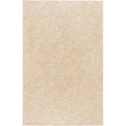 Artistic Weavers Carpette d'intérieur, 5 pi x 8 pi, à poils longs, style contemporain, rectangulaire, havane Parigua