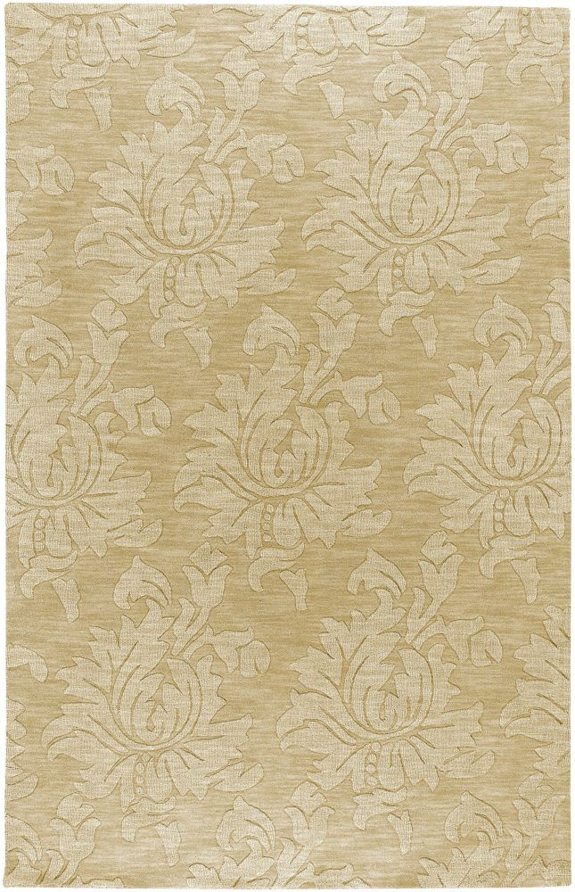 Mazata Beige Wool  - 5 Ft. x 8 Ft. Area Rug