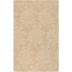 Artistic Weavers Carpette d'intérieur, 2 pi x 3 pi, style contemporain, rectangulaire, or Urica