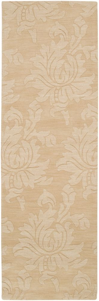 Urica Gold Wool Runner - 2 Ft. 6 In. x 8 Ft. Area Rug