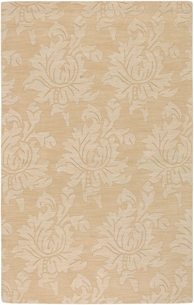 Urica Gold Wool  - 5 Ft. x 8 Ft. Area Rug
