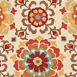 Artistic Weavers Tapis de passage d'intérieur/extérieur, 5 pi x 7 pi 6 po, style transitionnel, rectangulaire, havane Ateria