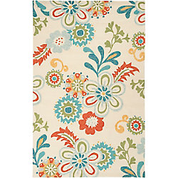 Artistic Weavers Capucci Multi-Colour 5 ft. x 7 ft. 6-inch Indoor/Outdoor Transitional Rectangular Area Rug