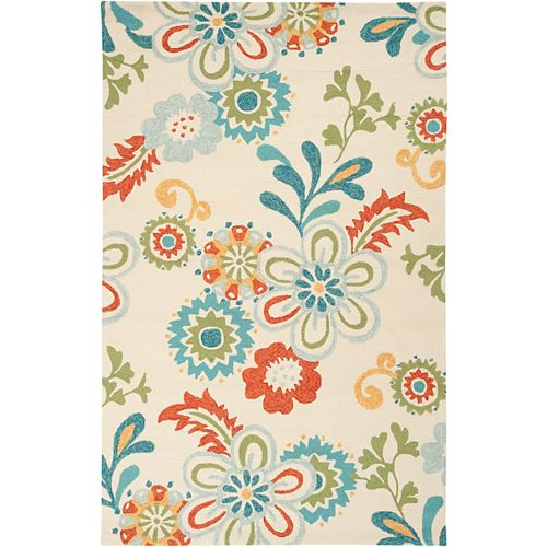 Artistic Weavers Capucci Blue 8 ft. x 10 ft. 6-inch Indoor/Outdoor Transitional Rectangular Area Rug