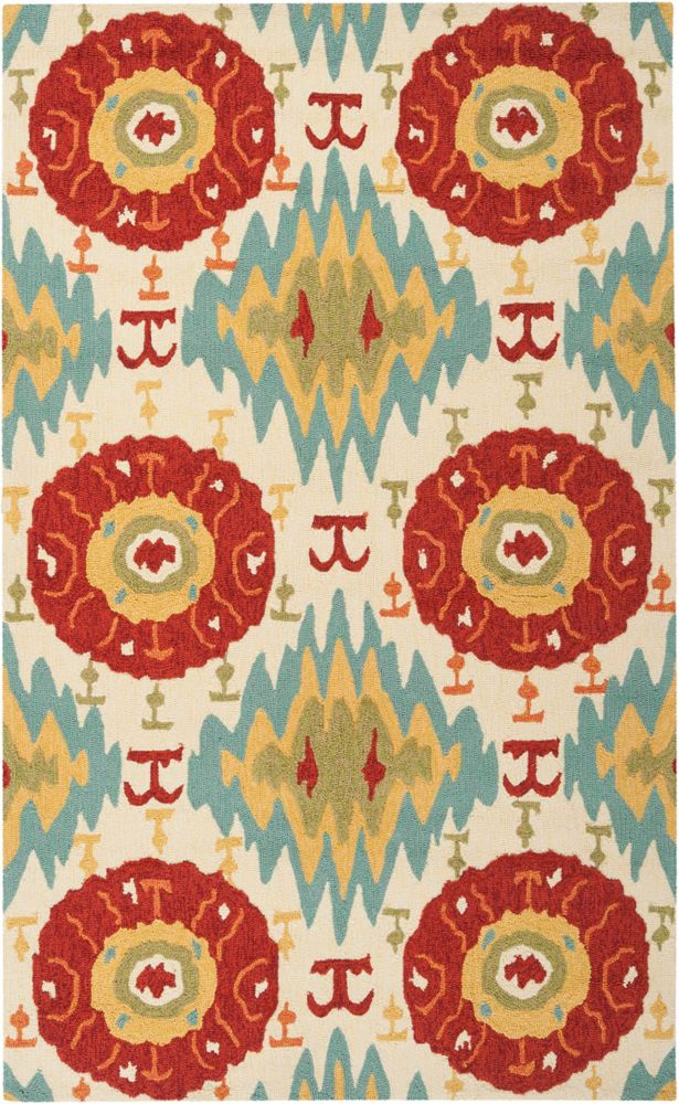 Artistic Weavers Olimpo Red 2 ft. x 3 ft. Indoor/Outdoor Transitional Rectangular Accent Rug