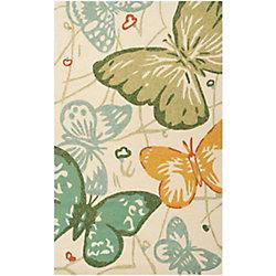 Artistic Weavers Carpette d'intérieur/extérieur, 2 pi x 3 pi, style transitionnel, rectangulaire, vert Durazo