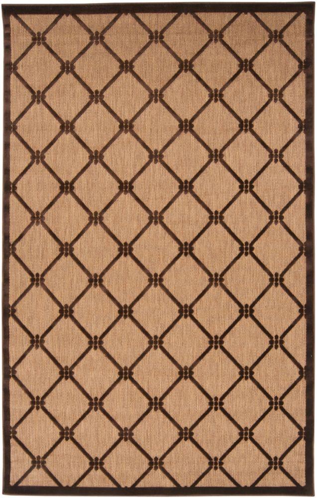 Artistic Weavers Yaritagua Beige Tan 7 ft. 10-inch x 10 ft. 8-inch Indoor/Outdoor Transitional Rectangular Area Rug