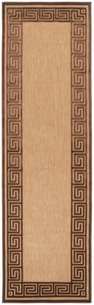 Artistic Weavers Sinamaca Beige Tan 2 ft. 6-inch x 7 ft. 10-inch Indoor/Outdoor Transitional Runner