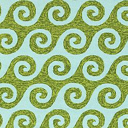 Artistic Weavers Carpette d'intérieur/extérieur, 2 pi x 3 pi, style transitionnel, rectangulaire, bleu Anapaike