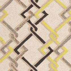 Artistic Weavers Tapis de passage d'intérieur/extérieur, 5 pi x 8 pi, style transitionnel, rectangulaire, havane Asaka
