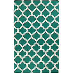 Artistic Weavers Saffre Blue 3 ft. 6-inch x 5 ft. 6-inch Indoor Contemporary Rectangular Area Rug