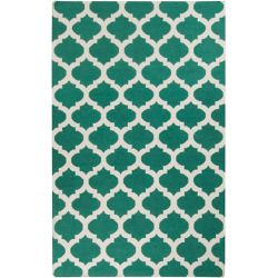 Artistic Weavers Saffre Blue 5 ft. x 8 ft. Indoor Contemporary Rectangular Area Rug