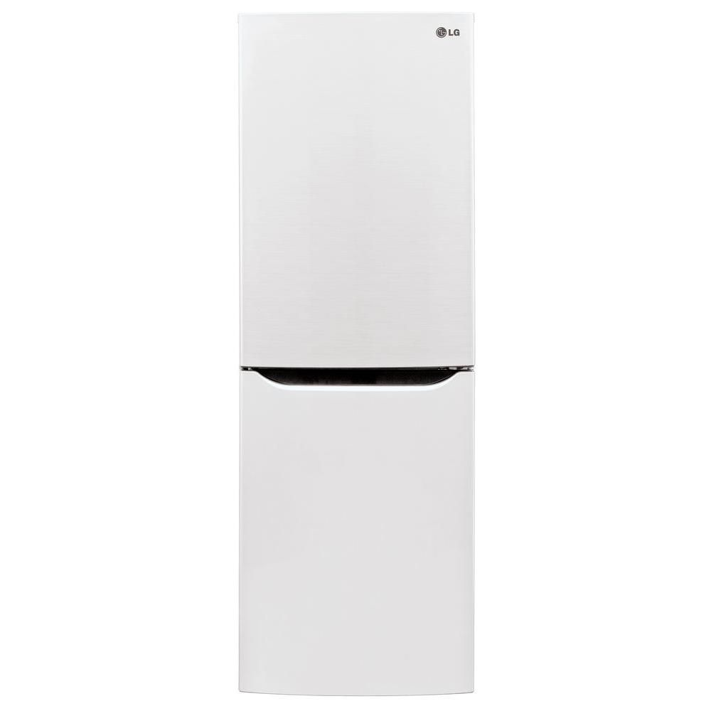10.2 cu. ft. Refrigerator with Bottom Freezer and Swing Door in White
