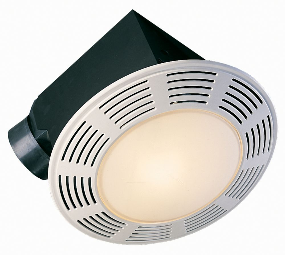 Air King Ltd Deluxe Round Exhaust Fan W Light And Nightlight 100 Cfm 3 5sones The Home