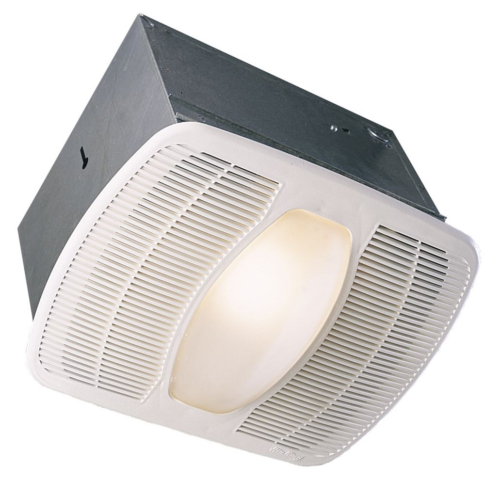 Air king ltd deluxe exhaust fan w light and night light for Panasonic 100 cfm bathroom fans
