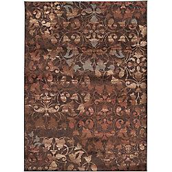 Artistic Weavers Carpette d'intérieur, 7 pi 10 po x 10 pi 10 po, style transitionnel, rectangulaire, rouge Kajana