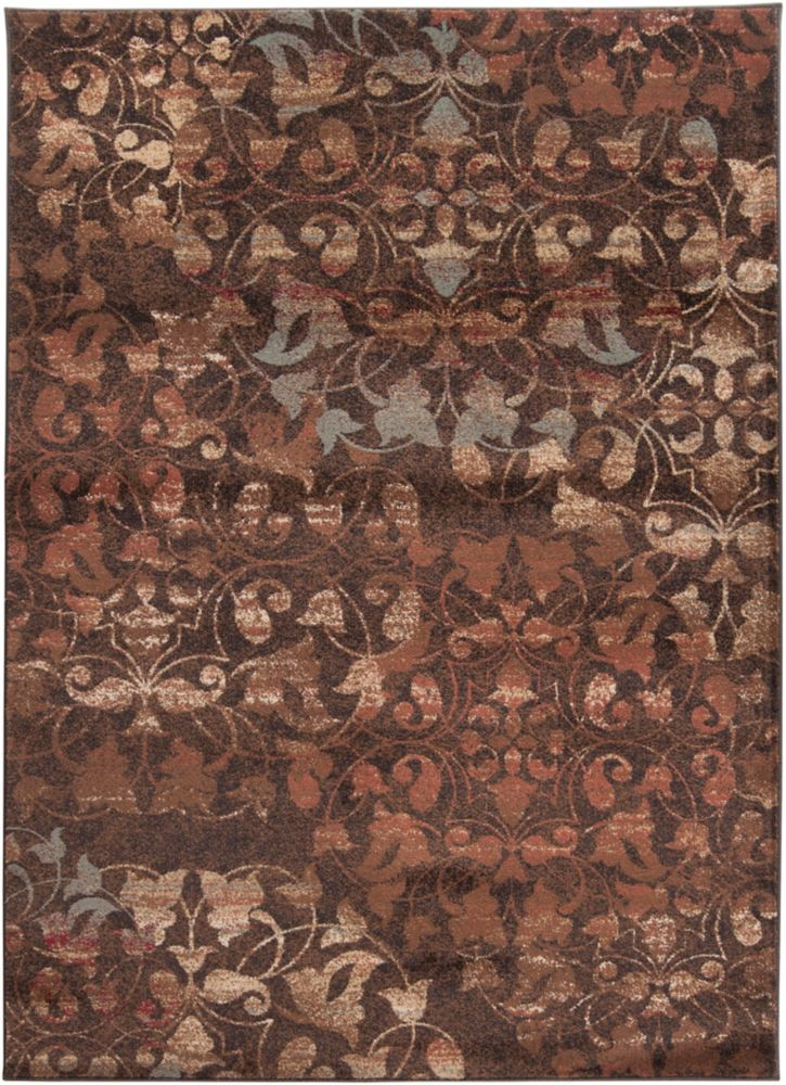 Artistic Weavers Kajana Red 7 ft. 10-inch x 10 ft. 10-inch Indoor Transitional Rectangular Area Rug