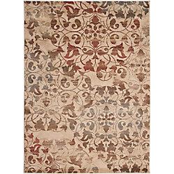 Artistic Weavers Carpette d'intérieur, 5 pi 3 po x 73 pi 6 po, style transitionnel, rectangulaire, havane Kondre