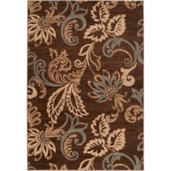 Artistic Weavers Pokigra Brown 5 ft. 3-inch x 7 ft. 6-inch Indoor Transitional Rectangular Area Rug