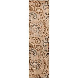Artistic Weavers Tapis de passage d'intérieur, 2 pi x 7 pi 5 po, style transitionnel, havane Pontoea