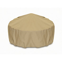 36 Inch Outdoor Fire Pit/Table Cover In Khaki Part 96