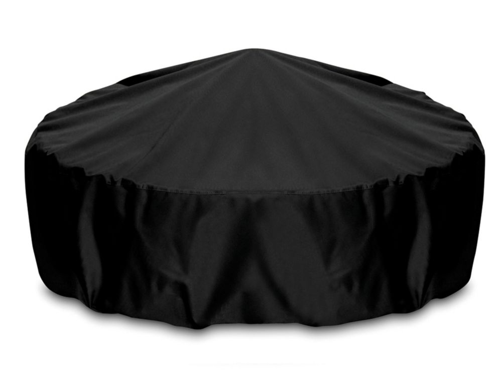 60-inch Outdoor Fire Pit/Table Cover in Black