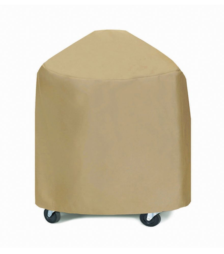 Round Or Egg Style -Khaki Grill Cover - 33 Inches