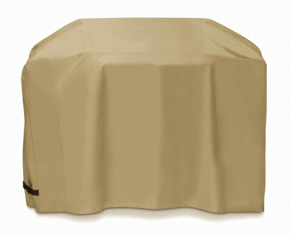 Two Dogs Designs 72-inch Cart Style BBQ Cover in Khaki