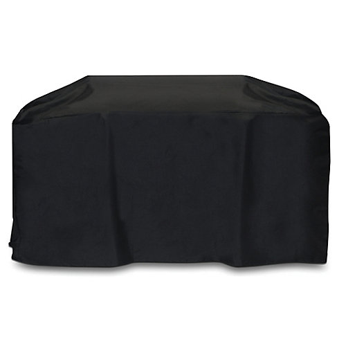 88-inch Cart Style BBQ Cover in Black