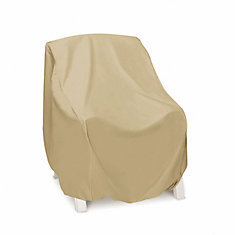 home depot furniture covers. high back outdoor chair cover in khaki home depot furniture covers