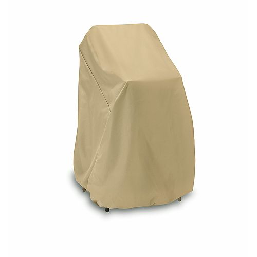 Two Dogs Designs 48-inch High Chair or Stack Chair Cover in Khaki