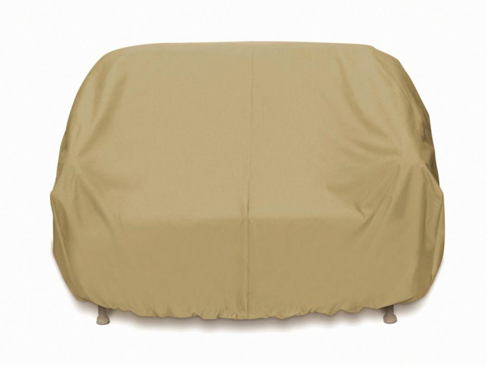 Outdoor 3-Seat Sofa Cover in Khaki