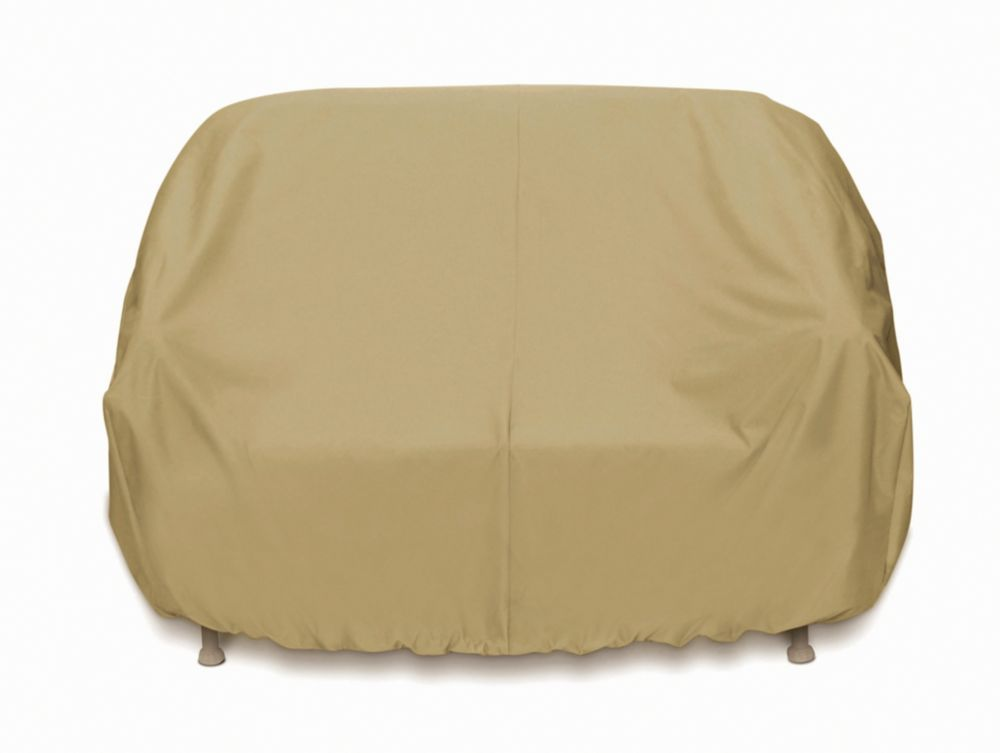 Outdoor 3-Seat Sofa Cover in Khaki