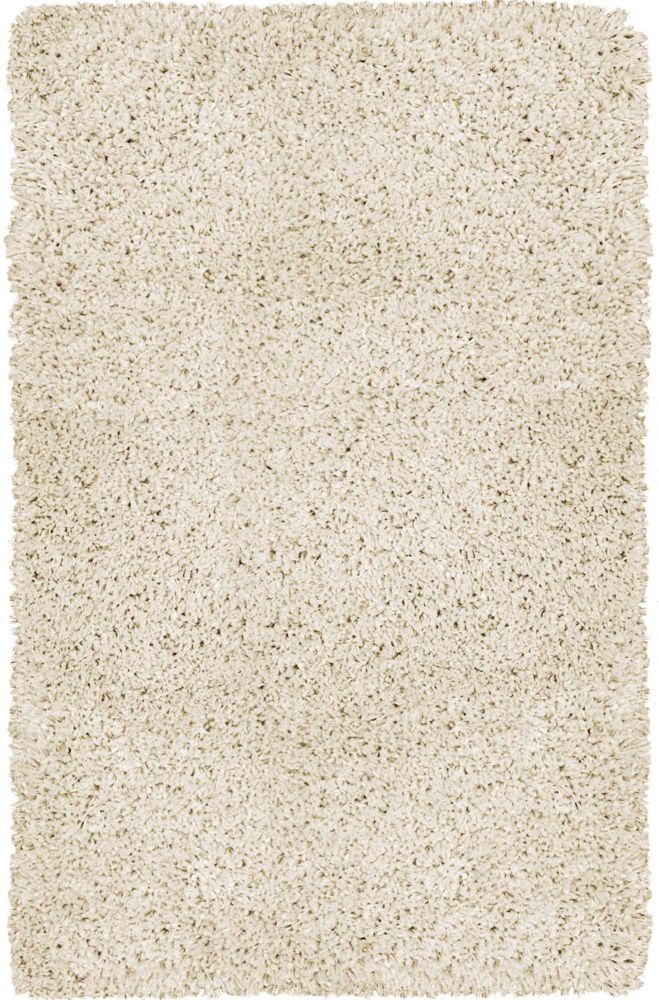 Carpet Art Deco Gallery Shag Off-White 7 ft. 9-inch x 10 ft. 4-inch Indoor Shag Rectangular Area Rug