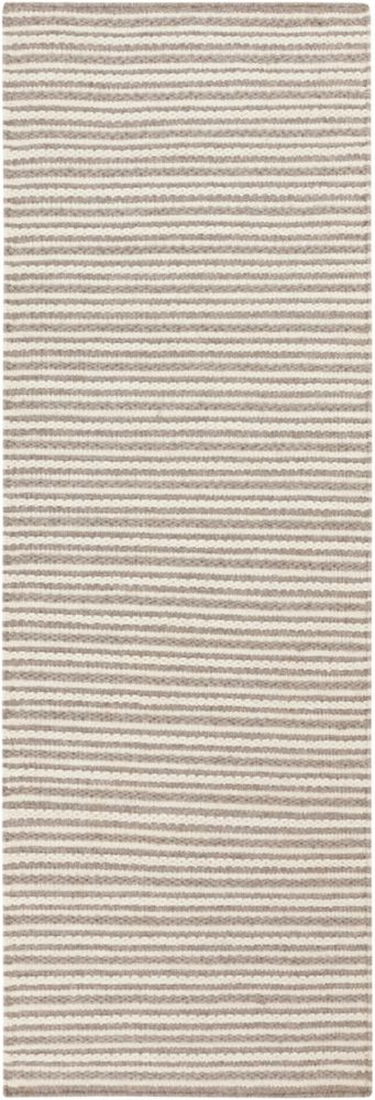 Rosario Peach Cream Wool Flatweave 2 Ft. 6 In. x 8 Feet Runner Rosario-B Canada Discount